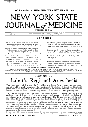 Download New York State Journal Of Medicine Pdf Free Medicine Journal Medicine Book Medicine
