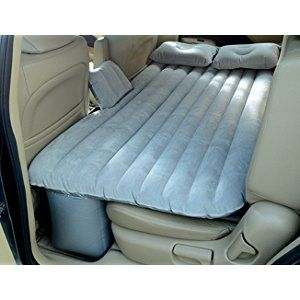 IFLYING Auto Car Inflatable AirBed Mattress For Back Seat Of Cars Jeeps SUVs And Mid Size Trucks Outdoor Travel