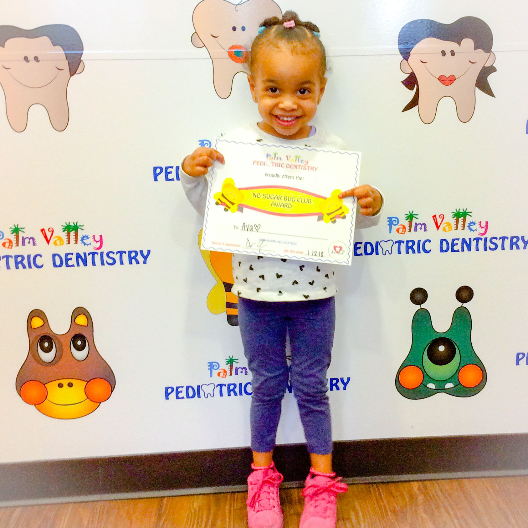 Everyone from our board certified pediatric dentists to