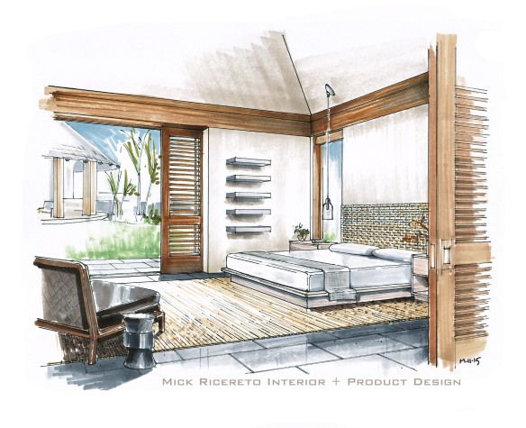 furniture sketches interior design. posts about hand rendering on mick ricereto interior product design furniture sketches