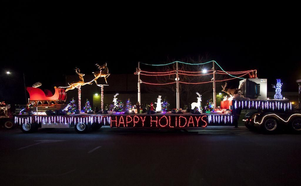 one of the floats that has been in a previous christmas in ida parade of lights - Christmas In Ida