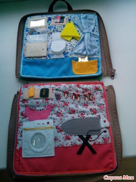 сумка-домик для куклы в подарок младшей доченьке