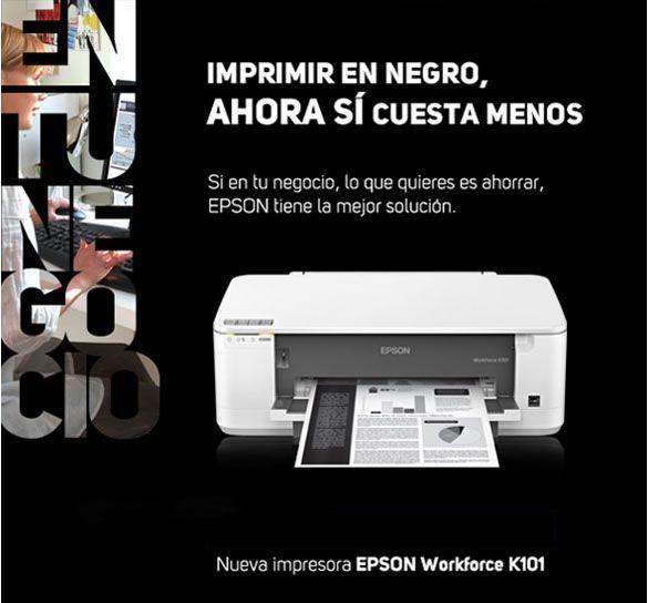 Impresión en negro con costos de laser pero menos consumo de energía.