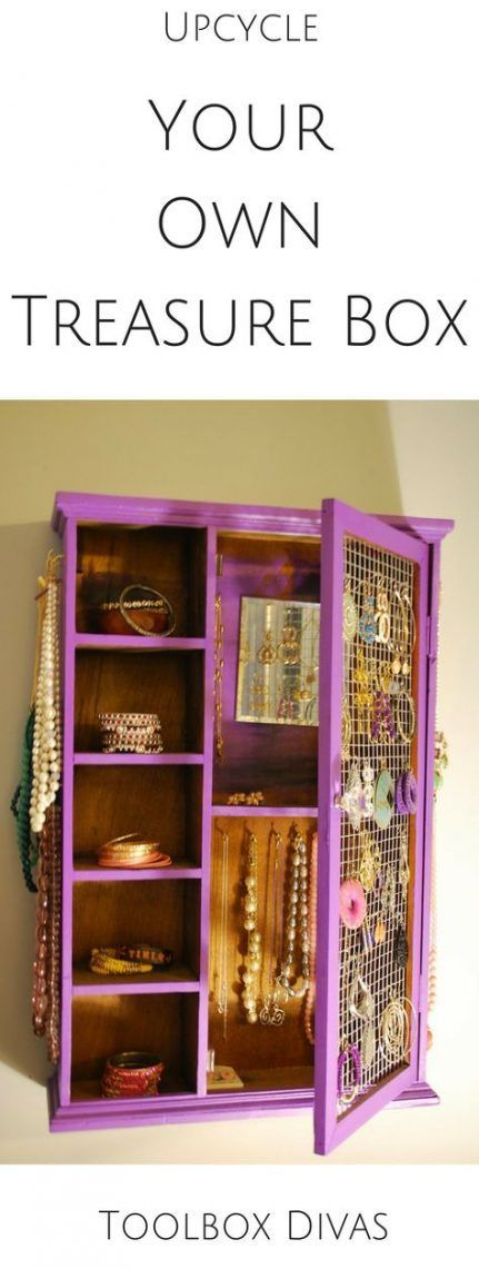Jewerly box diy woodworking home 25 super Ideas #jewerly #diy #woodworking #home