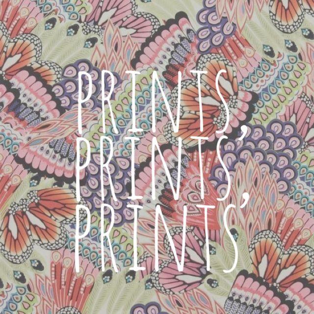 love prints prints prints
