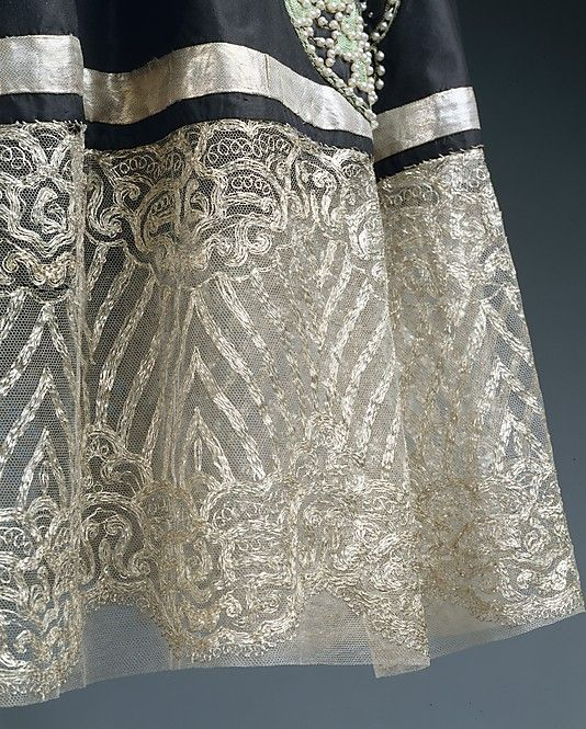 Dress (Robe de Style) House of Lanvin (French, founded 1889) Designer: Jeanne Lanvin (French, 1867–1946) Date: spring/summer 1924 Culture: French Medium: silk, metallic thread, glass
