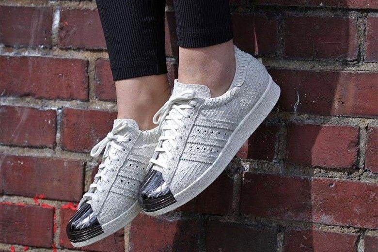adidas original superstar 80s blanc