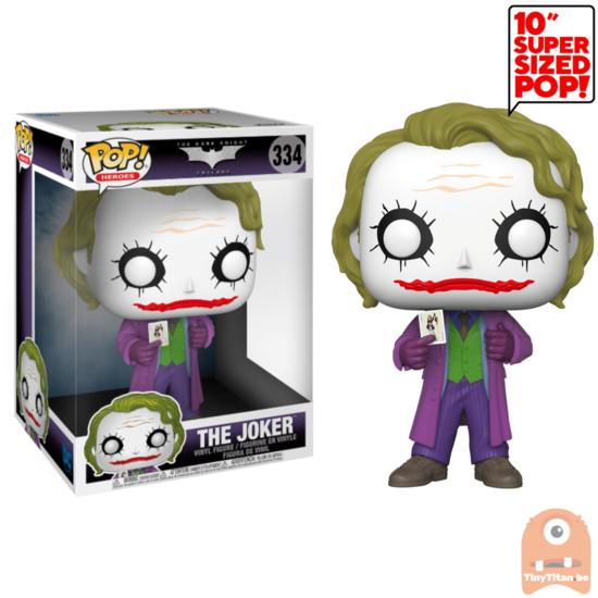 Pop Heroes The Joker 10 Inch 334 Batman The Dark Knight In 2020 The Joker Dark Knight Funko Pop