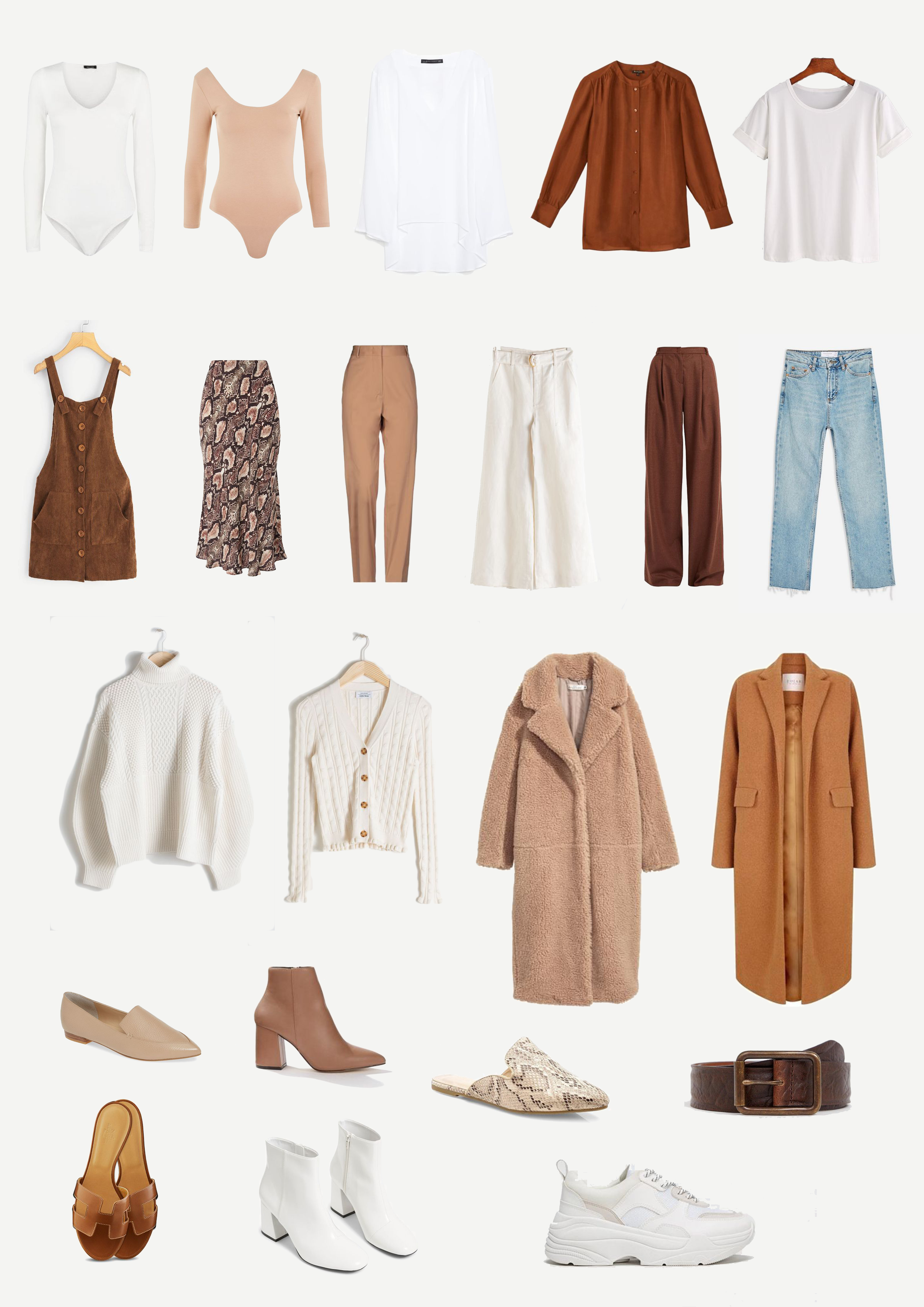Neutral Wardrobe for Elle