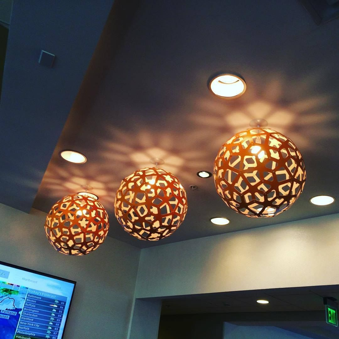 Lighting Design · Look Over Here And What Do We See? David Trubridge CORALS,  Three. Pendant