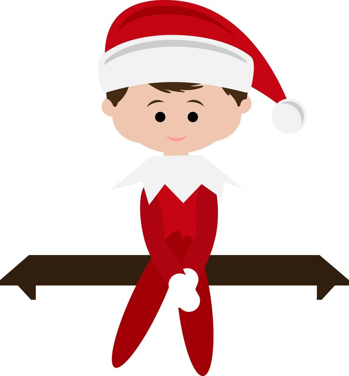 Elf On The Shelf Svg Google Search Christmas Elf Xmas Elf Free Christmas Greeting Cards
