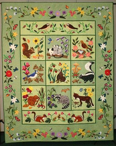 Woodland Creatures By Elvira Ohelmacher Pattern By