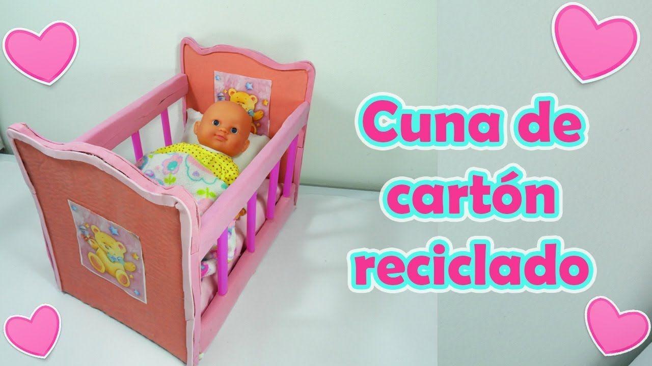 Cuna Carton Reciclado Bebe Juguete Cunas De Carton Cunas