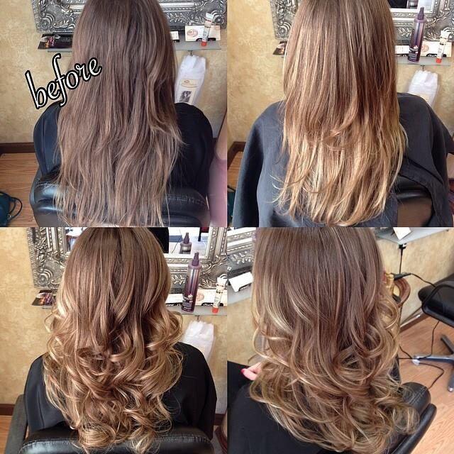 Hair by rachel fife sara fraraccio salon ombr sombre for Salon sombre