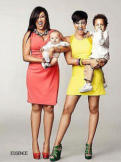 Tamera and Tia and sons