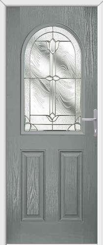 Grey Doors are simply stunning! Grey Composite Door - Dorchester Arch Composite Door is shown & Grey Doors are simply stunning! Grey Composite Door - Dorchester ... pezcame.com