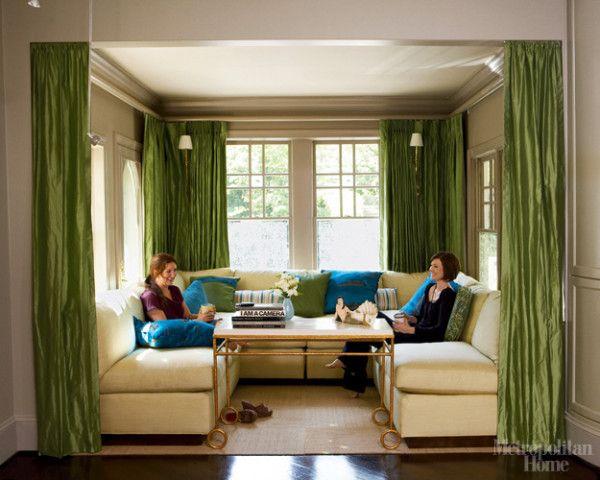 LookBook - Search Photos by Room Type and Design Style at ELLE Decor - wohnzimmer gelb streichen