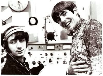 Michael & Davy in the studio