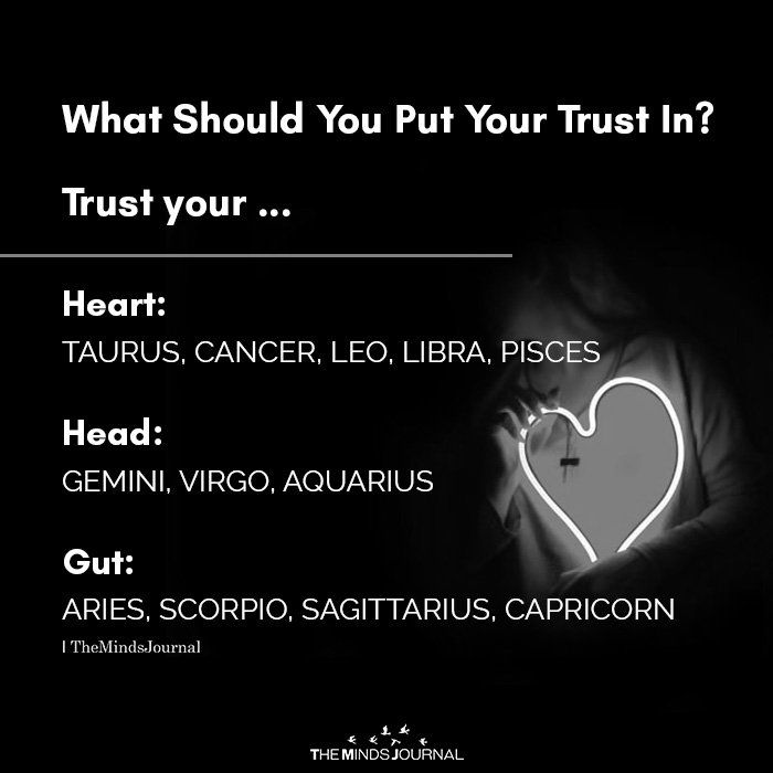 What Should You Put Your Trust In