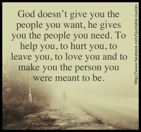 I need to remember this when people move on to what God has for them.  I pray God uses me to prepare them for the next step in their walk with Him.