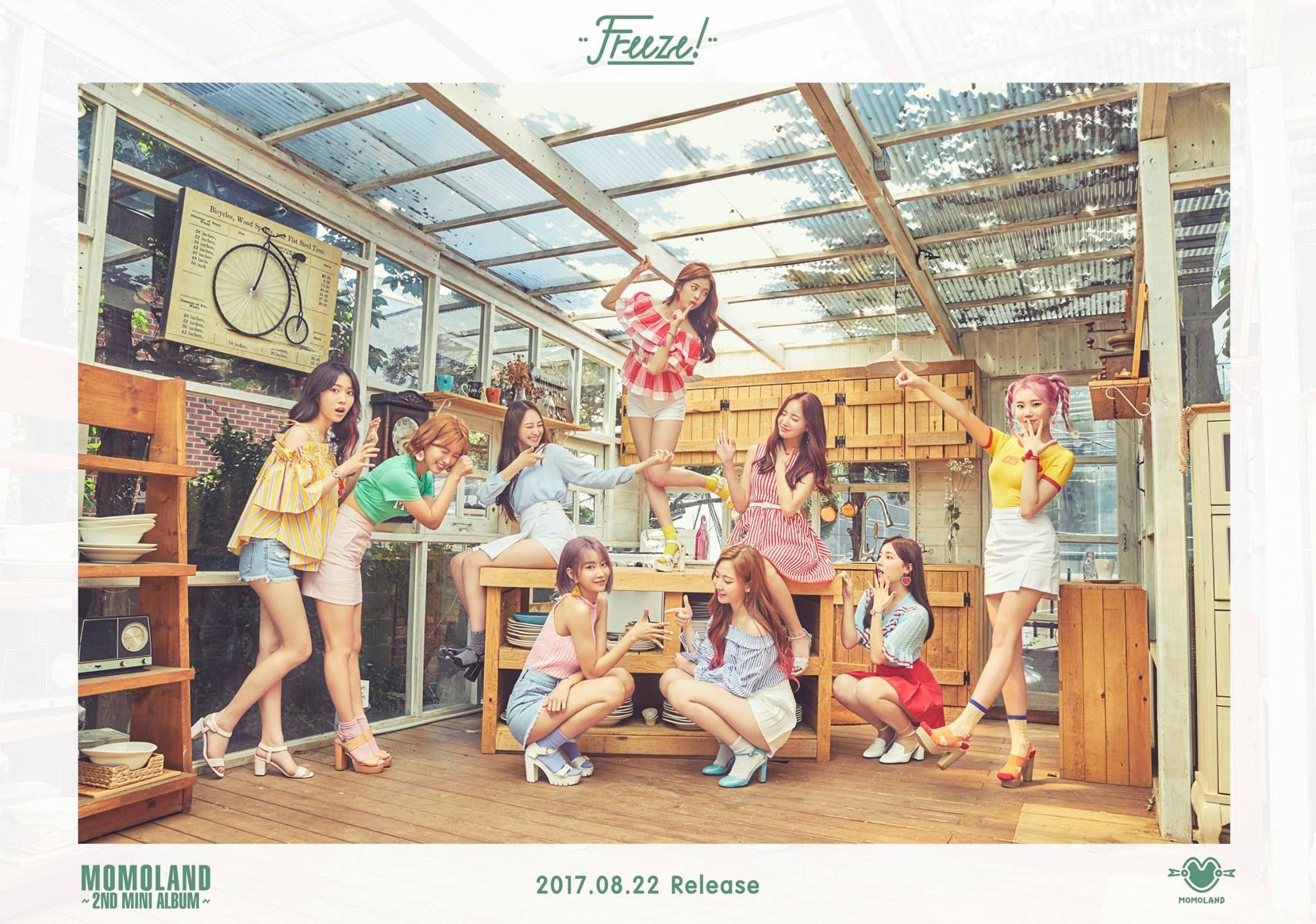 Teaser Momoland 2nd Mini Album Freeze Teaser Image 2 이미지 포함 데이지