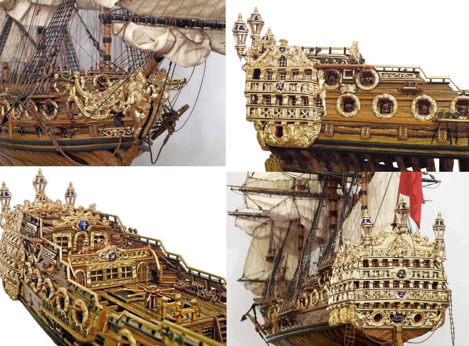 British Warship Model Details / Saved by Stephen Lok     ~END~