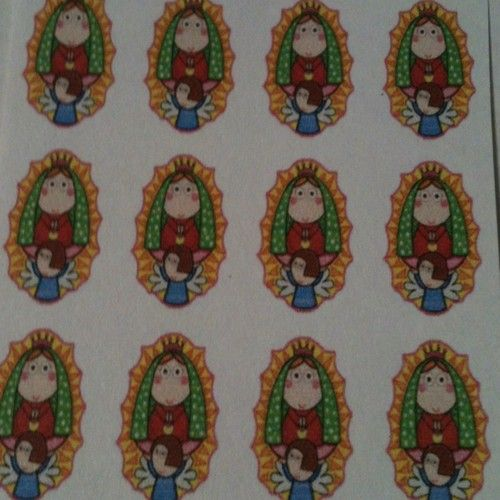 Virgencita Plis Nail Water Slide Decal 100 Virgencita Plis