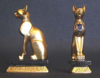 Bastet Of Ubasi Her Color Is Red And She Loves The Sistrum And