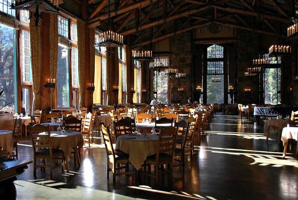 The Ahwahnee Dining Room The Ahwahnee Yosemite National Park's Beauteous Ahwahnee Dining Room