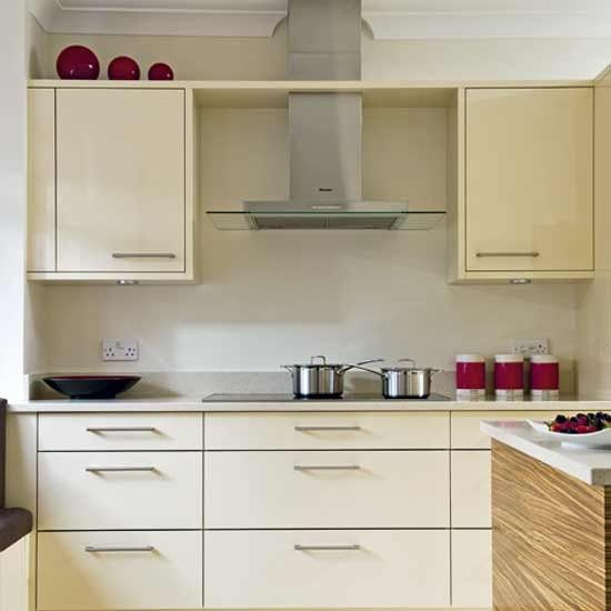 Simple Kitchen Design Hpd453: Simply Stylish Cream Kitchen