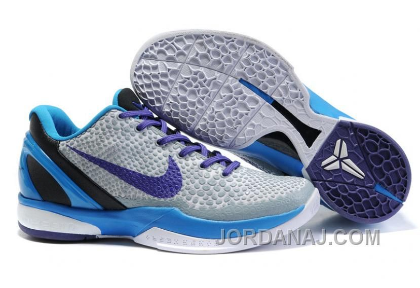 save off 6f576 de870 Nike Zoom Kobe 6 Shoes Royal Glacier Blue White Purple $56.99 Jordan Shoes  For Sale,