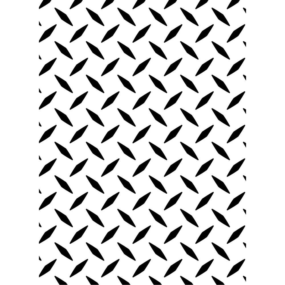 Basketweave Darice Embossing Folder 5 by 7-Inch