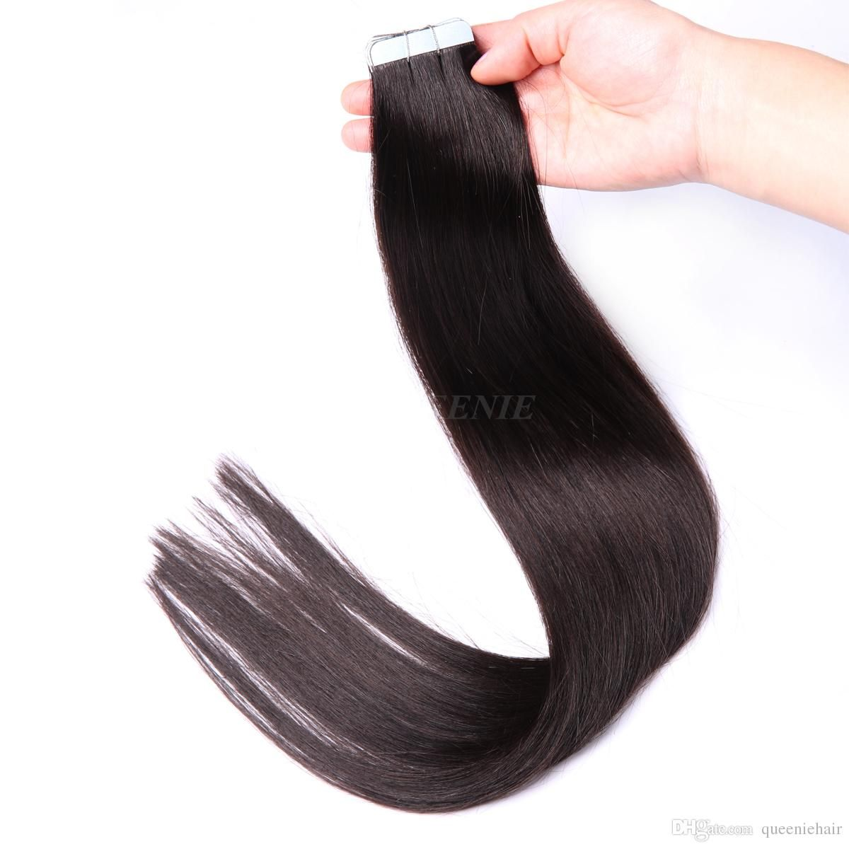 Top Grade 7a Skin Weft Tape Hair Tape In Hair Extensions Best Glue