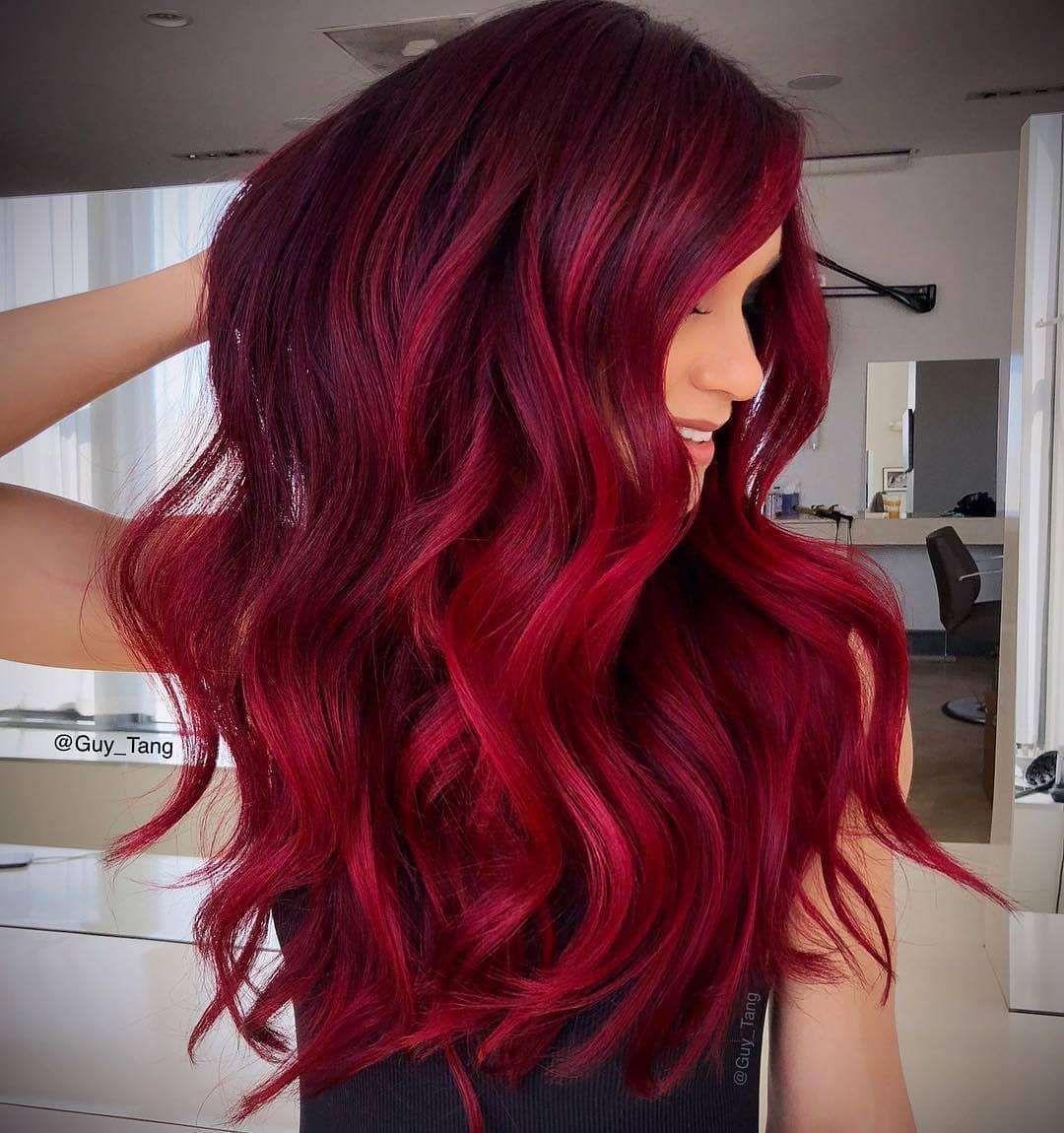 75 Best Hair Colors For Spring Summer Season 2019 Burgundy Red Hair Hair Color Shades Cool Hair Color