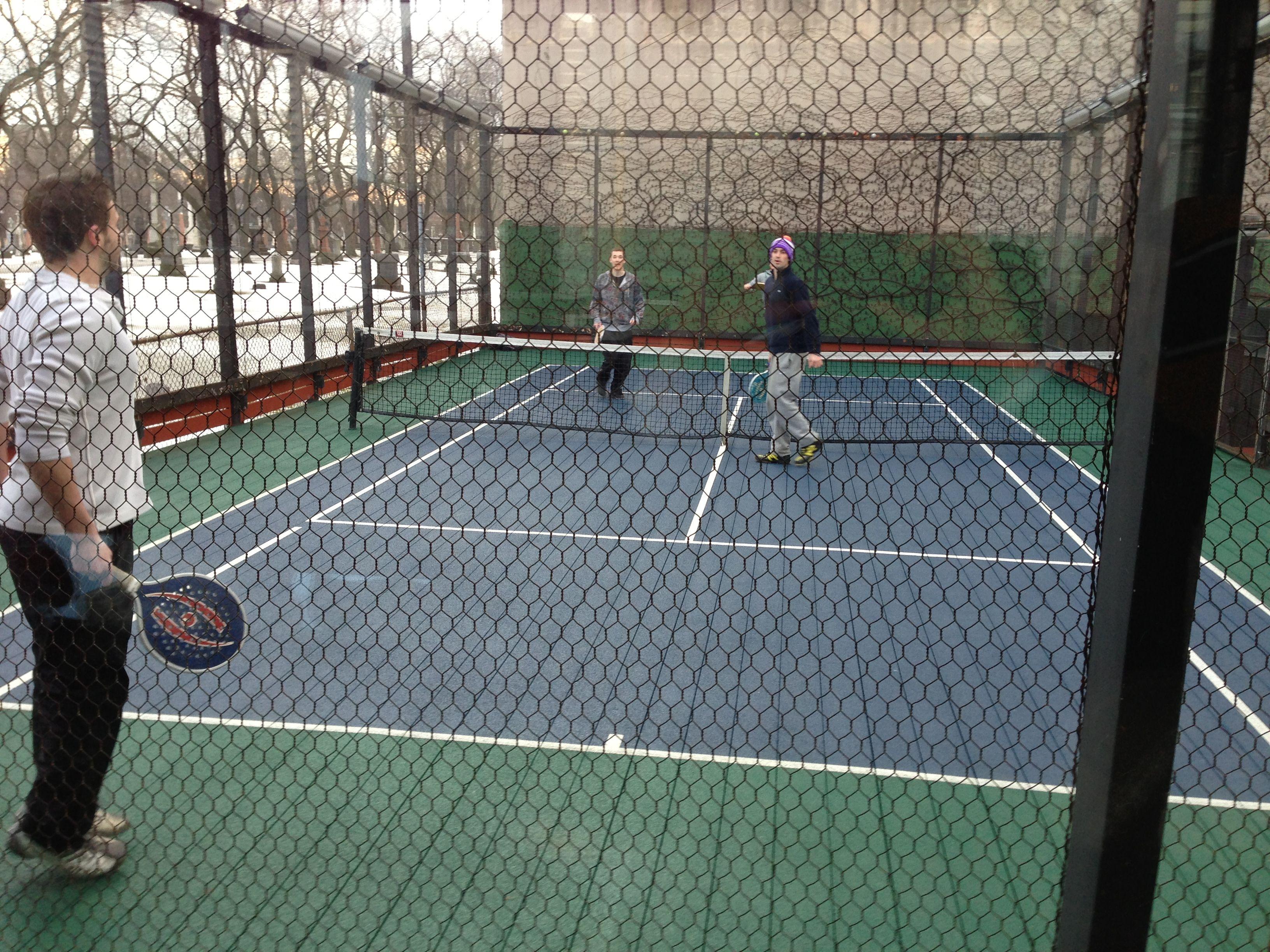 Every season is Paddle Tennis season #bnr #newfoundsport
