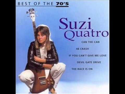 Suzi Quatro If You Can T Give Me Love Music Hits Youtube Music Mix