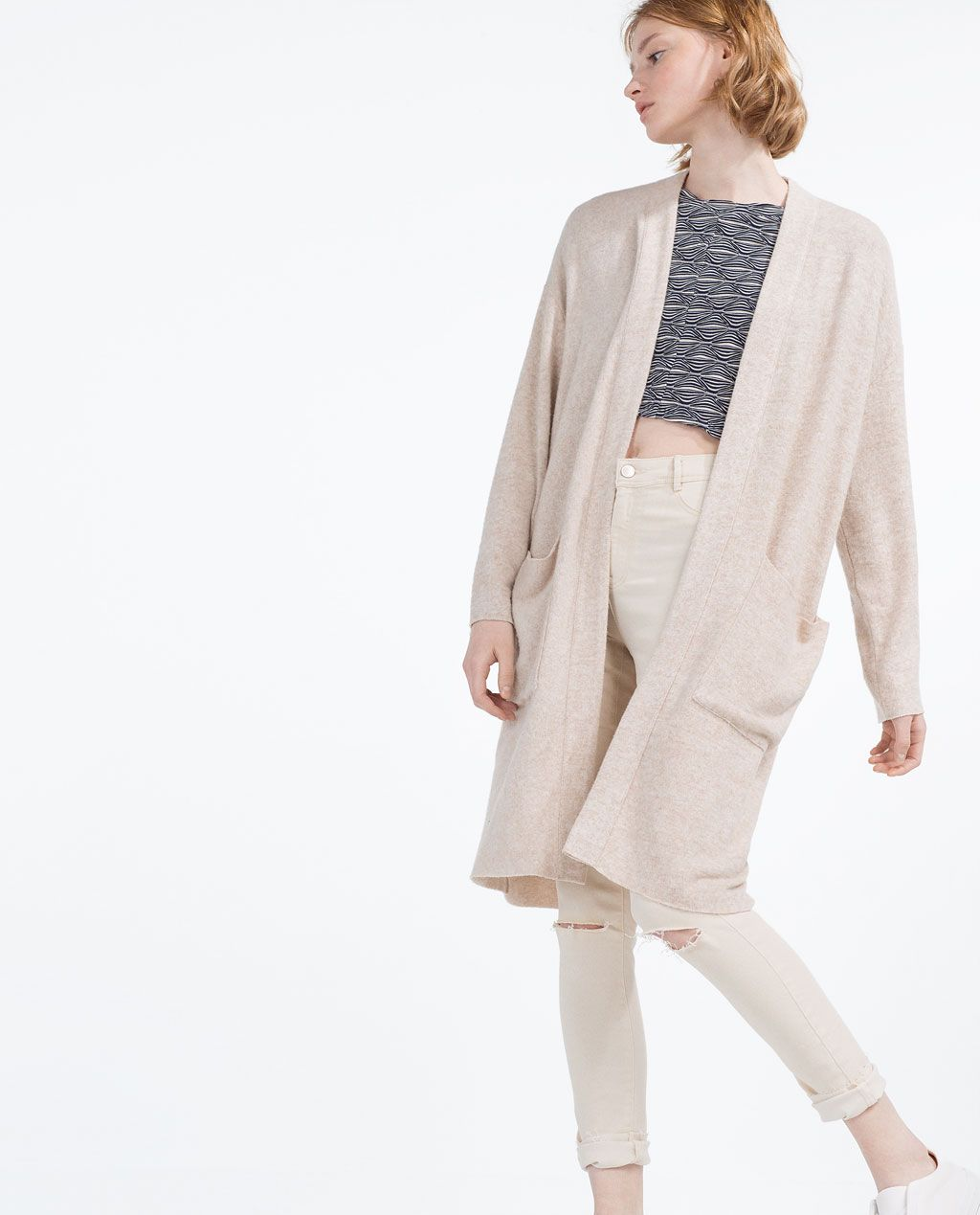 SOFT TOUCH CARDIGAN from Zara | What to wear | Pinterest | Ss