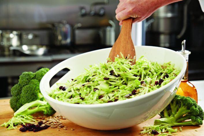 Broccoli Slaw - ideas for cooking broccoli stalk
