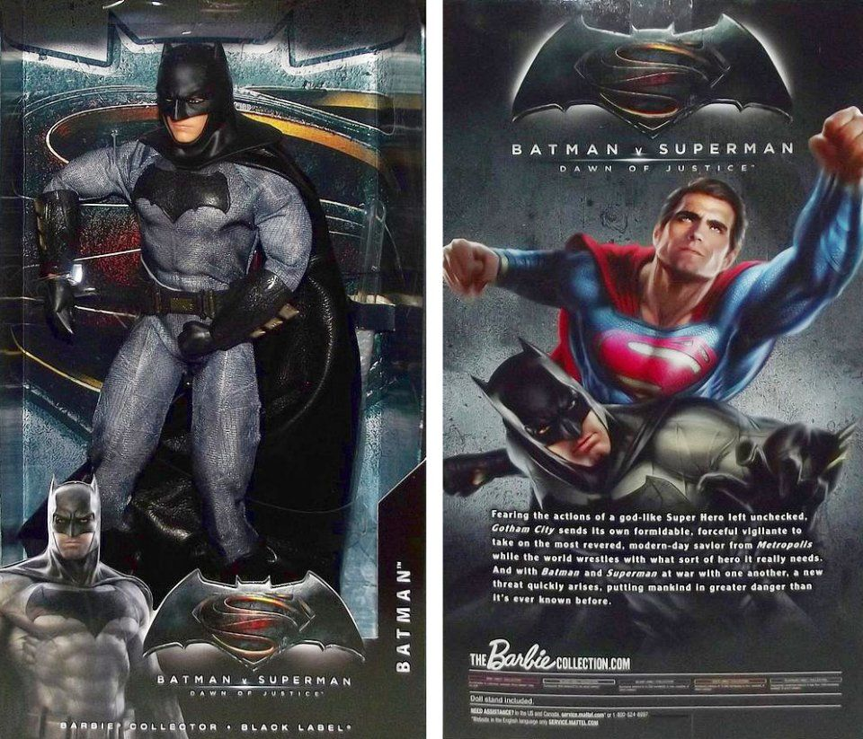 Barbie Batman V Superman Dawn Of Justice Wonder Woman Dolls