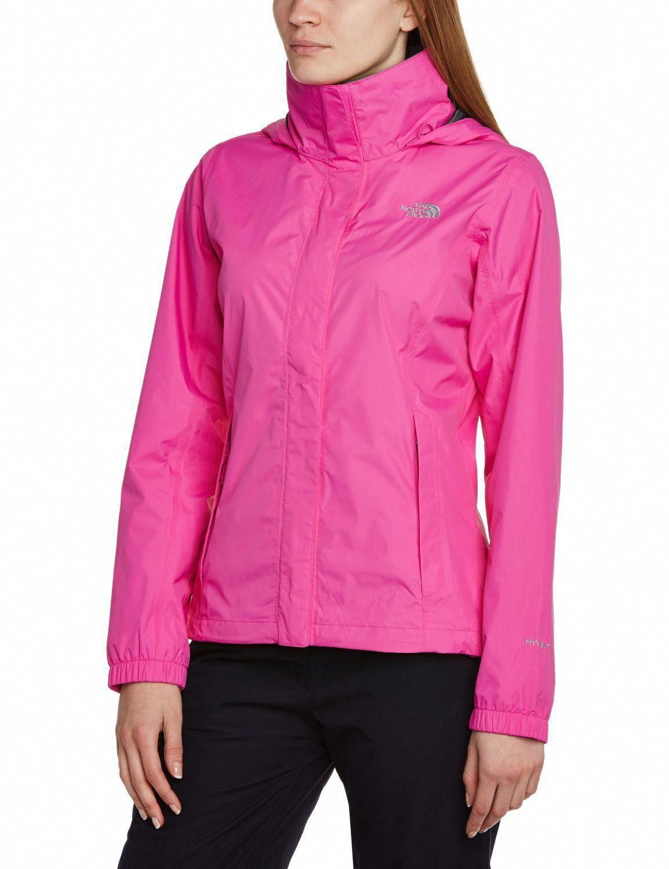 The North Face Womens Resolve Jacket Azalea Pink Amazon Co Uk Sports Outdoors Bestraincoatwomens Rain Jacket Women Black Rain Jacket Coats Jackets Women [ 1500 x 1154 Pixel ]
