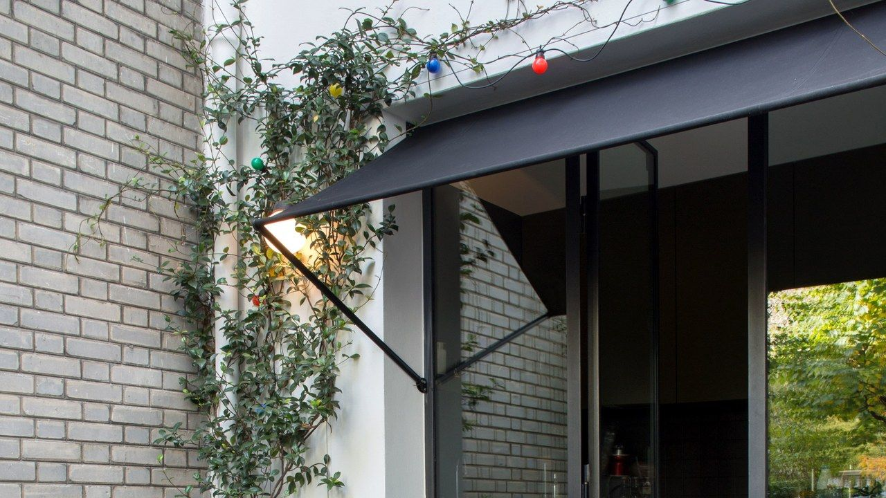 This Is The Right Way To Do A Door Awning Door Awnings Awning Over Door Sliding Glass Door