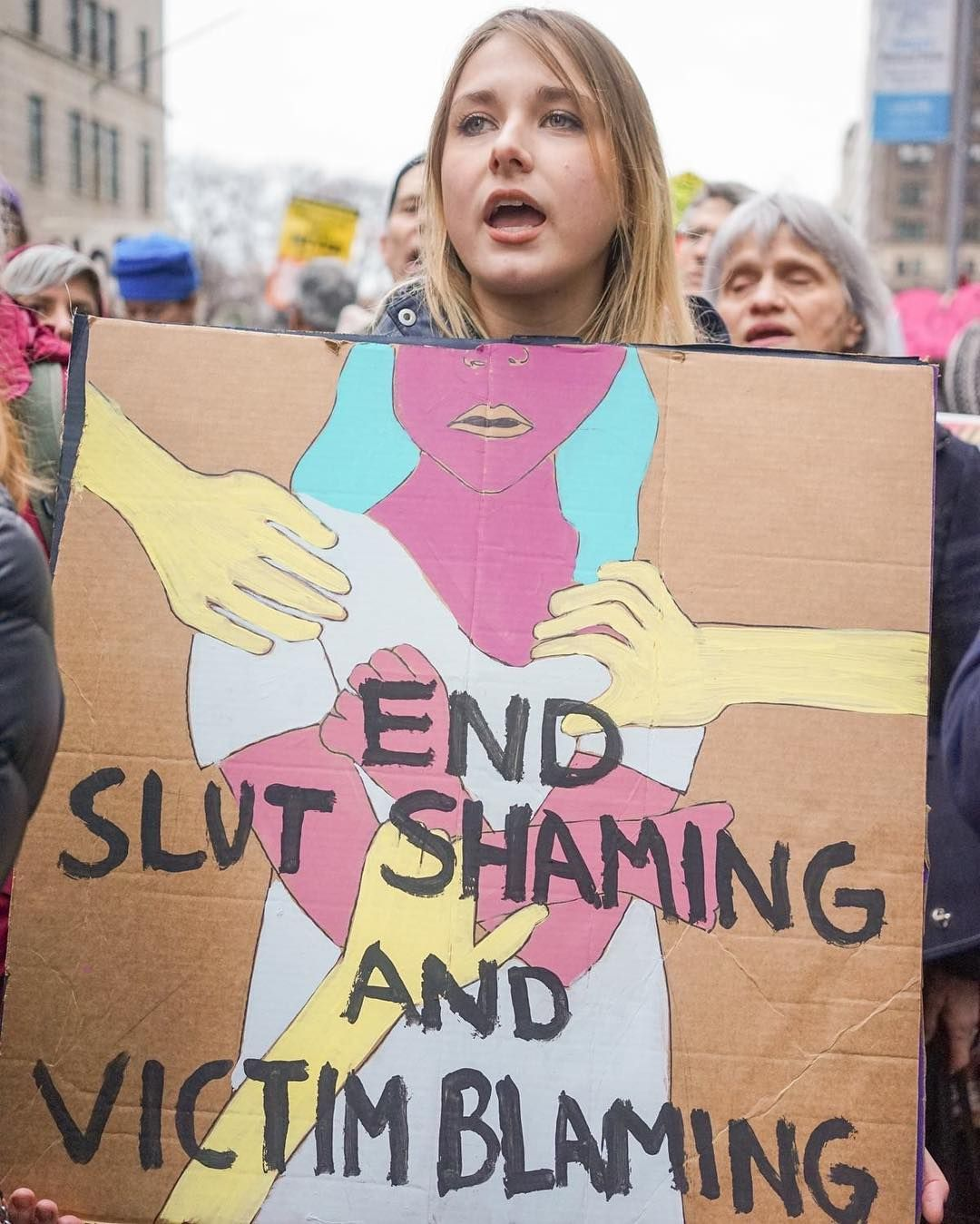 All The Best Feminist Protest Signs Of 2016 Feminist Protest Signs Protest Ideas Protest Signs