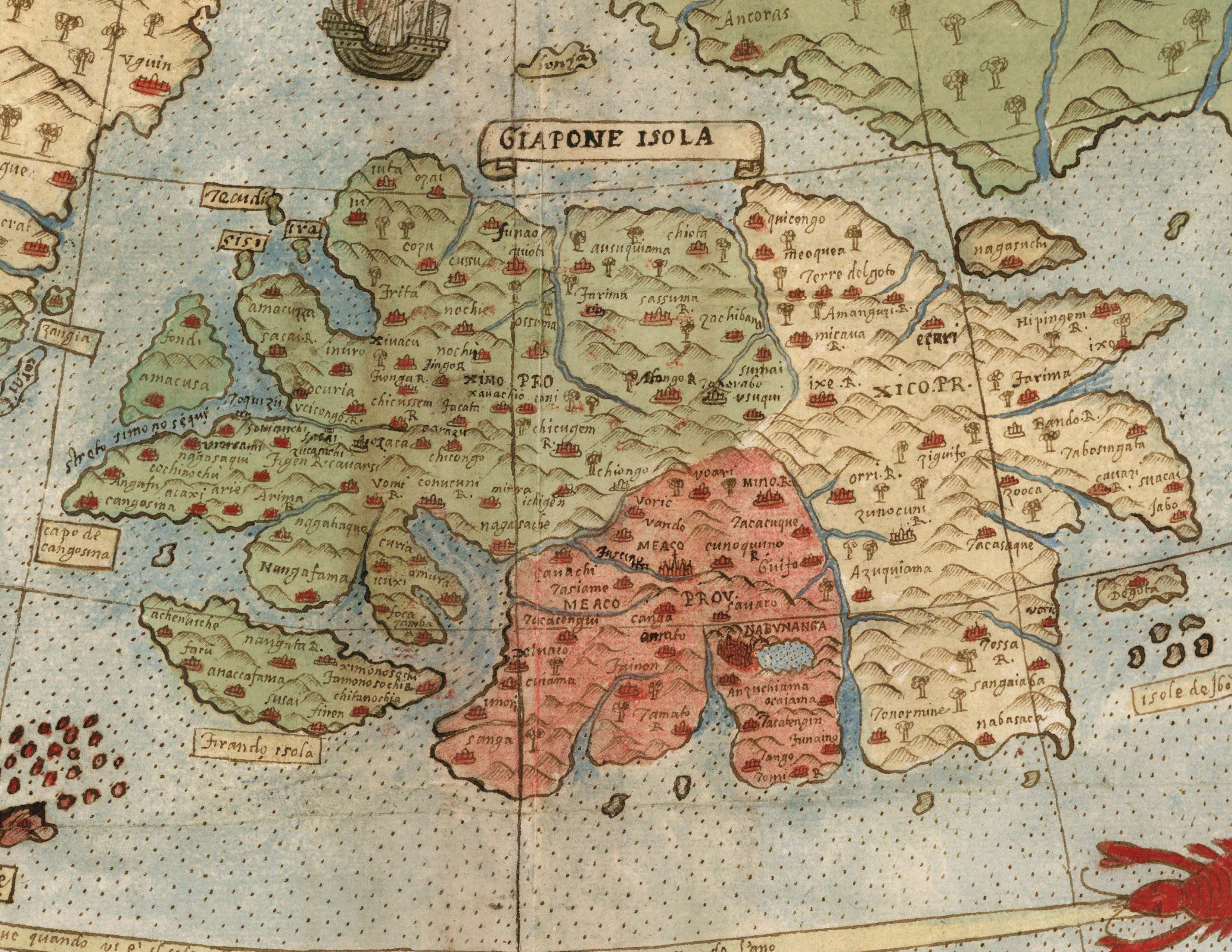 David Rumsey Historical Map Collection | Largest Early World Map