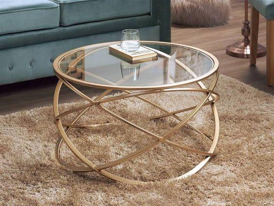 table basse centrale pour le salon