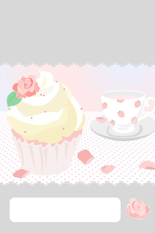 Pin By Tajah Hardy On Wallpapers Shabby Chic Cupcakes Kitchen Background Cute Backgrounds