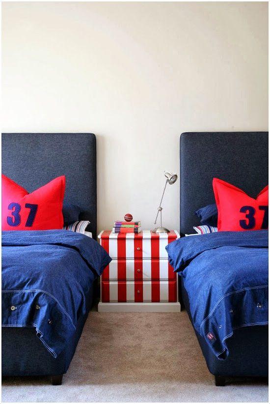 Habitaciones compartidas para chicos adolescentes - Habitaciones infantiles compartidas ...