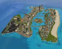 Vice City 3d Map City Grand Theft Auto Series Grand Theft Auto