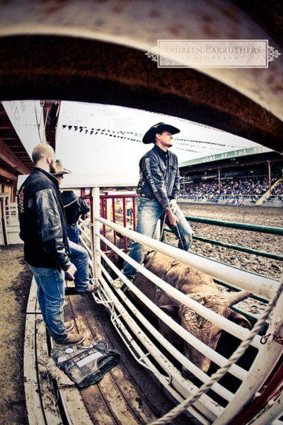 Bull Rider Rule: You get your own rope ready!