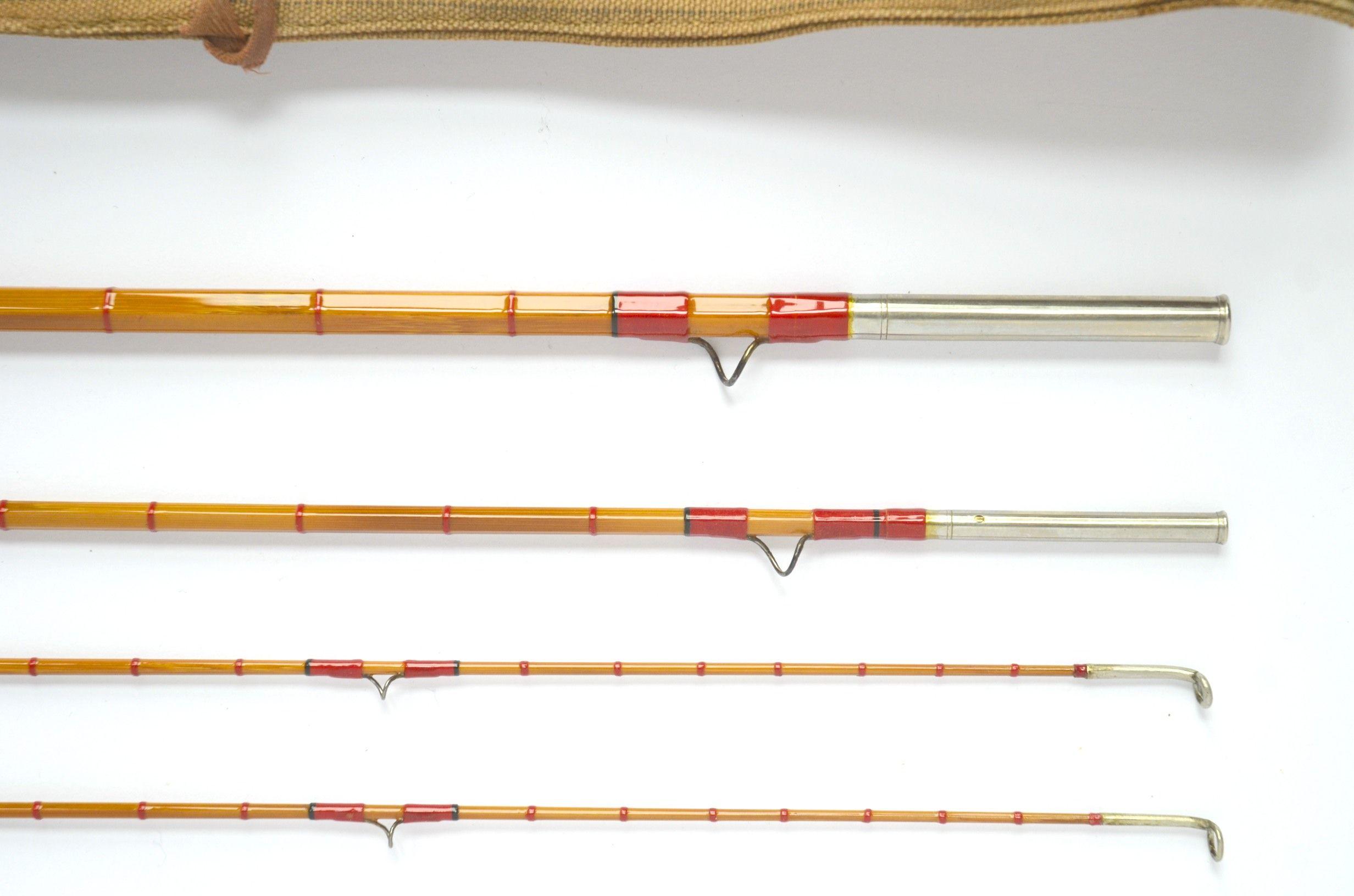 Ed Payne 8'9″ 3/2 #3/4-Bamboo Fly Rod