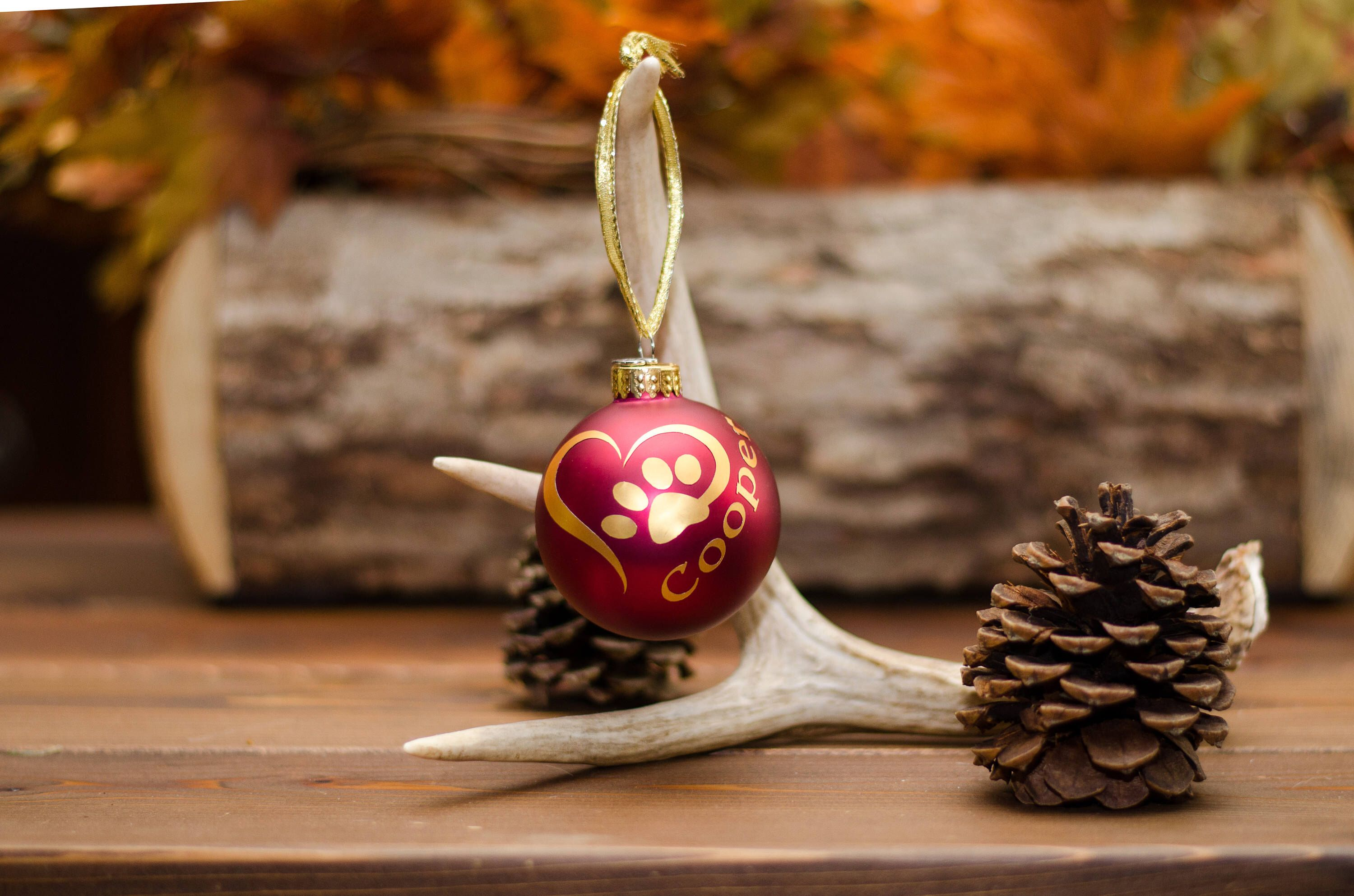 Personalized Christmas Ornament by KCWoodshed on Etsy